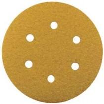 Hook & Loop Gold Sanding Discs