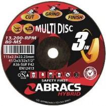 """Hybrid """"3-in-1"""" Multi disc"""