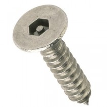 Pin Hex Countersunk Self Tapping Screws