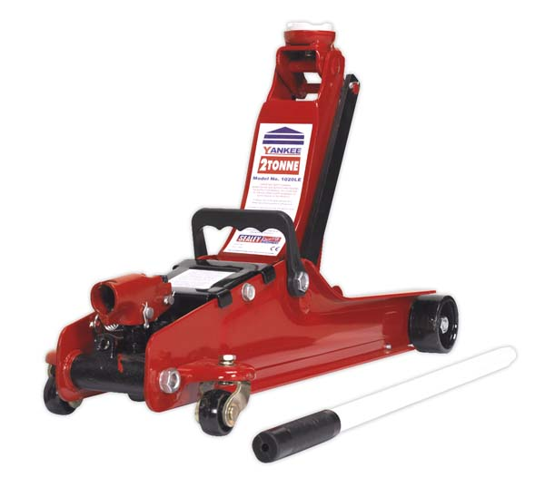 Sealey - 1020LE  Trolley Jack 2tonne Low Entry