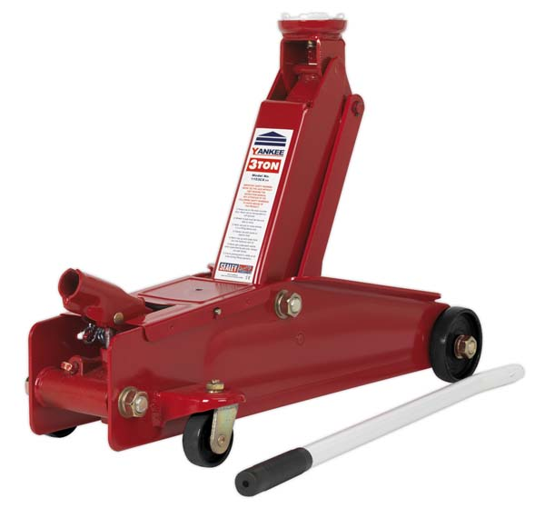 Sealey - 1153CX  Trolley Jack 3tonne Long Chassis Heavy-Duty