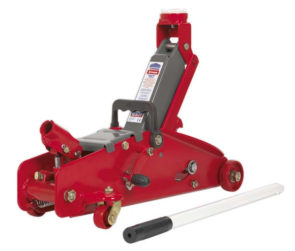 Sealey - 2000LJ  Trolley Jack 2tonne with Safety Lock