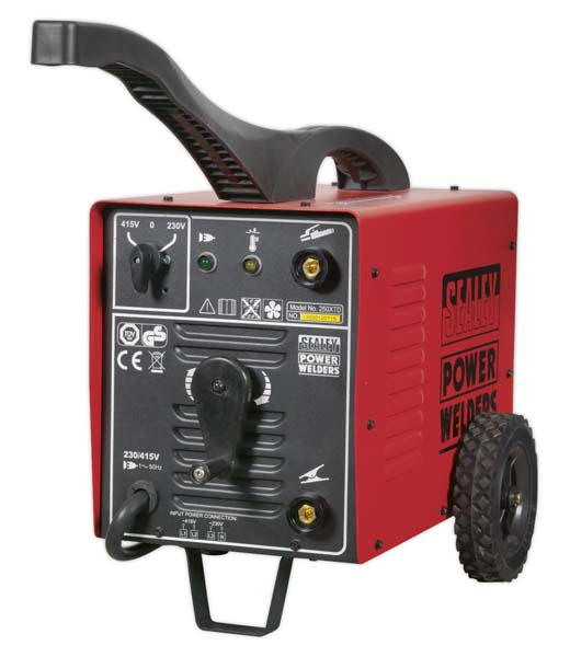 Sealey - 250XTD  Arc Welder 250Amp 230/415V 3ph with Accessory Kit