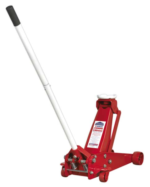 Sealey - 3012CXD  Trolley Jack 3tonne Super Rocket Lift Professional