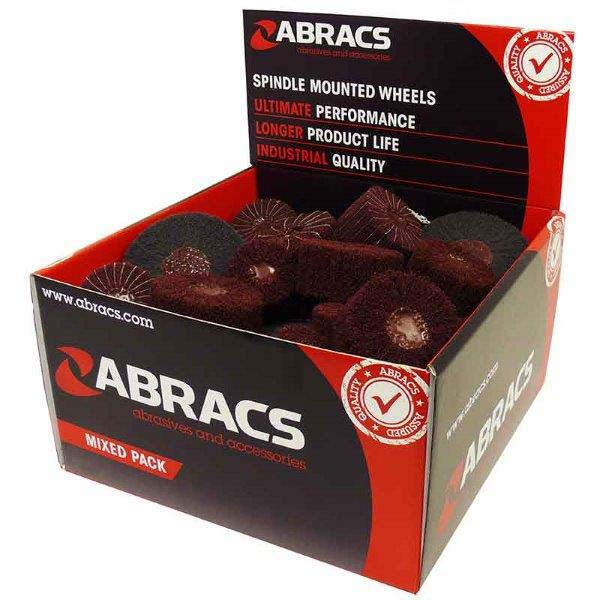 Abracs  36pc MIXED NON-WOVEN DISPLAY PACK