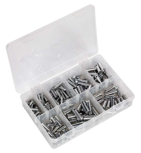 Sealey - AB019CP  Clevis Pin Assortment 200pc - Imperial