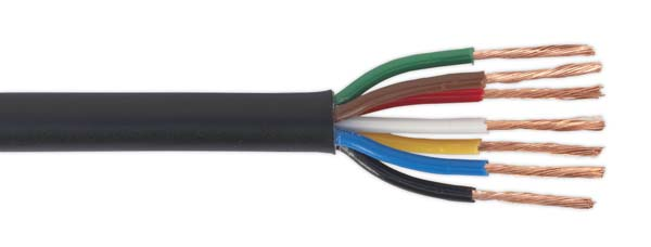 Sealey - AC24207CTH  Automotive Cable Thin Wall 7 x 0.75mm