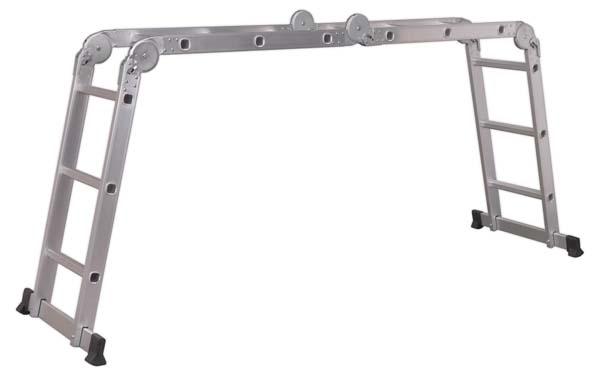 Sealey - AFPL1  Aluminium Folding Platform Ladder 4-Way EN 131