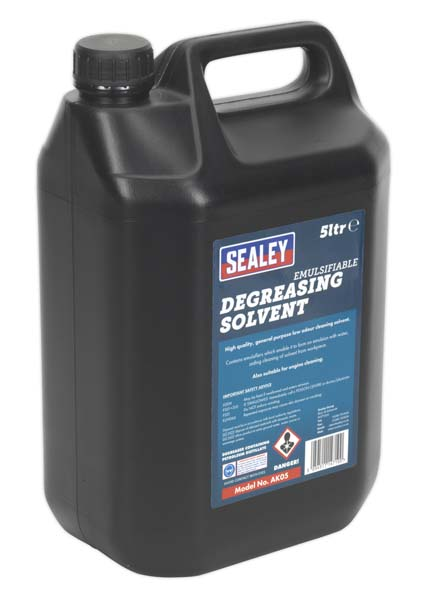 Sealey - AK05  Degreasing Solvent Emulsifiable 5ltr