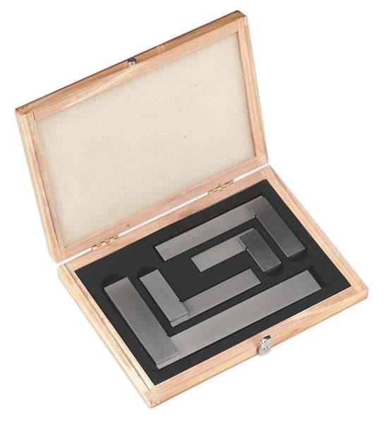 Sealey - AK11000  Precision Steel Square Set 4pc