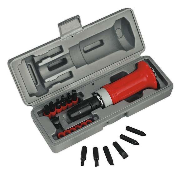 Sealey - AK2081  Impact Driver Set 15pc Protection Grip
