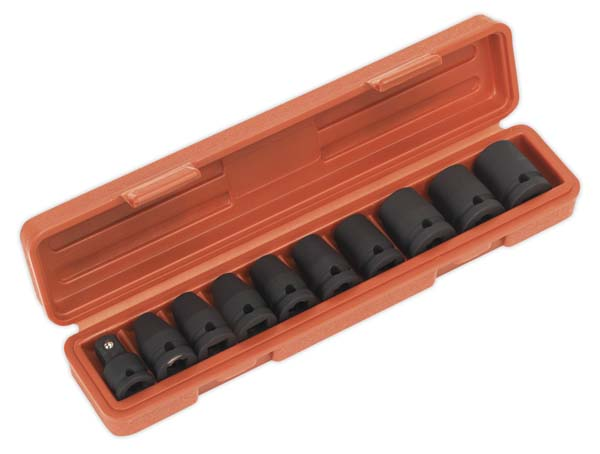 """Sealey - AK2301  Impact TRX-Star Female Socket Set 10pc 1/2""""Sq Drive"""