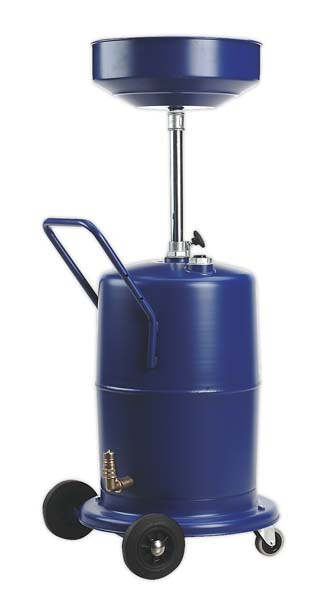 Sealey - AK450DX  Mobile Oil Drainer 75ltr Pump Away