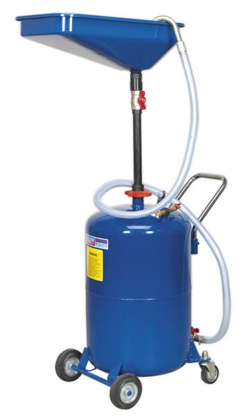 Sealey - AK451DX  Waste Oil Drainer 65ltr Air Discharge