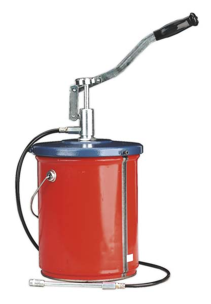 Sealey - AK455  Bucket Greaser with Follower Plate 12.5kg Extra Heavy-Duty