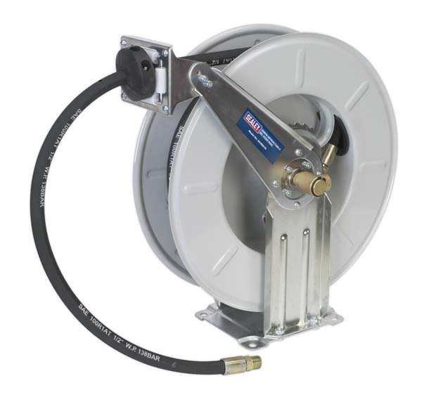 Sealey - AK4567D  Oil Hose Reel Retractable 10mtr