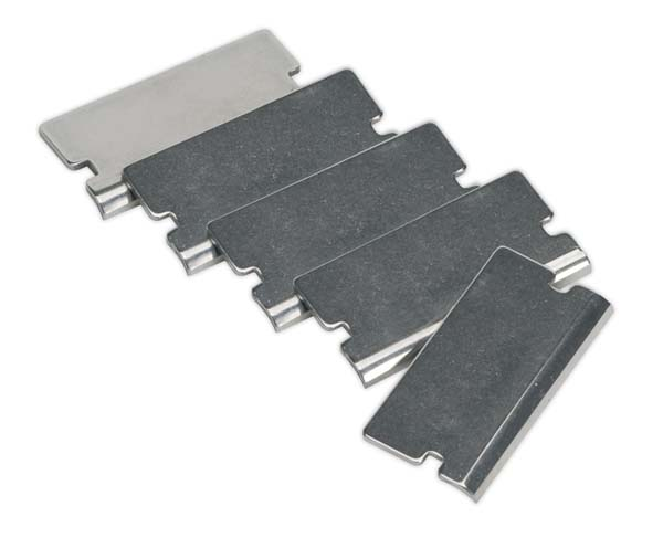 Sealey - AK52507/1  Angled Razor Blade for AK52507, AK52504, VS500 Pack of 5