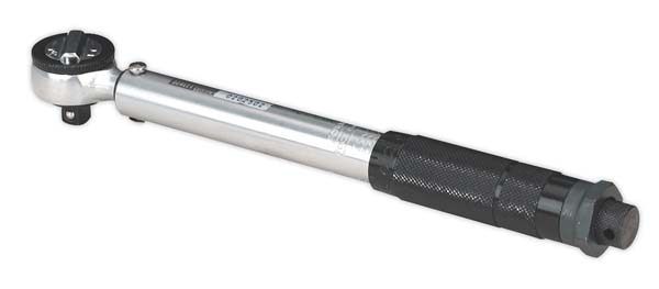 """Sealey - AK623  Micrometer Torque Wrench 3/8""""Sq Drive Calibrated"""