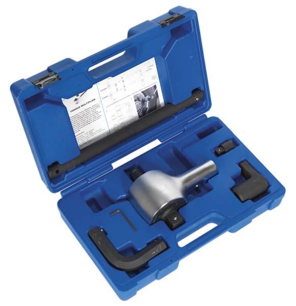 "Sealey - AK6291  Torque Multiplier Set 7pc 1/2""-1""Sq Drive"
