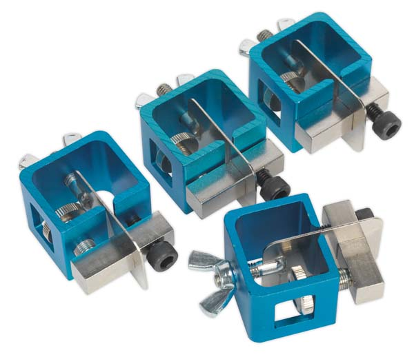 Sealey - AK6805  Butt Welding Clamp Set 4pc