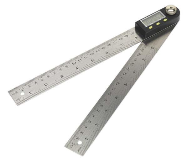 "Sealey - AK7200  Digital Angle Rule 200mm(8"")"