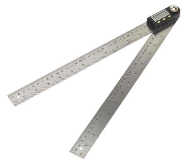 "Sealey - AK7300  Digital Angle Rule 300mm(12"")"