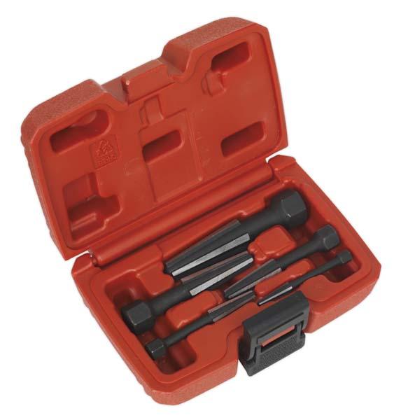 Sealey - AK752  Screw Extractor Set 5pc Double Edge
