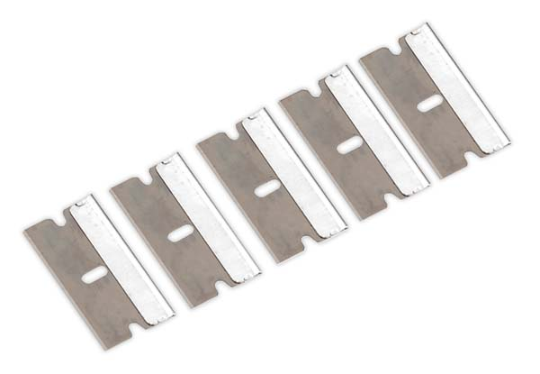 Sealey - AK867/1  Razor Scraper Blade Pack of 5