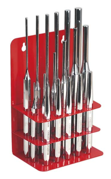 Sealey - AK9130  Punch Set 17pc
