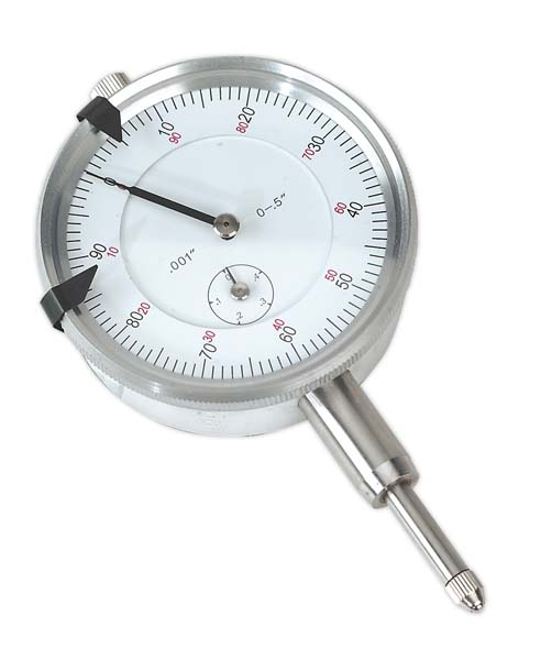 "Sealey - AK961  Dial Gauge Indicator 1/2"" Travel Imperial"