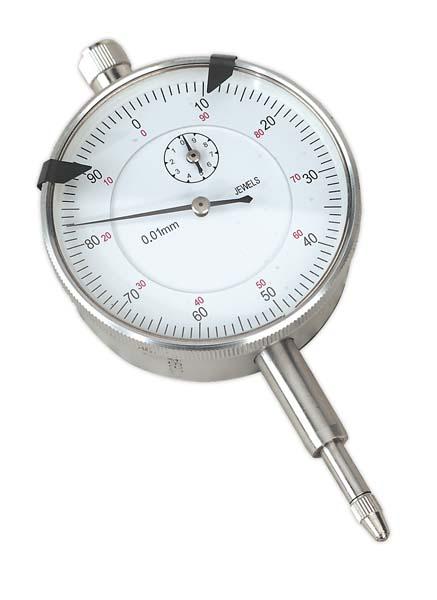 Sealey - AK961M  Dial Gauge Indicator 10mm Travel Metric