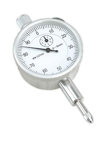 Sealey - AK9634M  Dial Gauge Metric 8mm Deflection