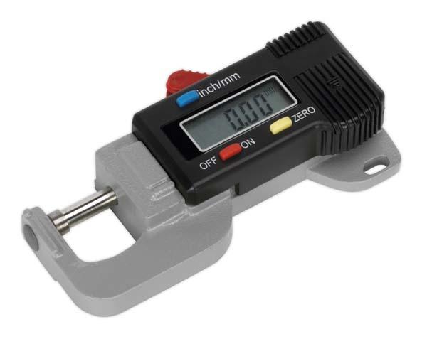 "Sealey - AK9638D  Digital External Micrometer 0-12.7mm(0-0.5"")"