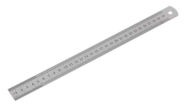 """Sealey - AK9641  Steel Rule 300mm/12"""""""