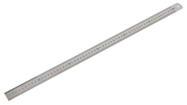 """Sealey - AK9642  Steel Rule 600mm/24"""""""