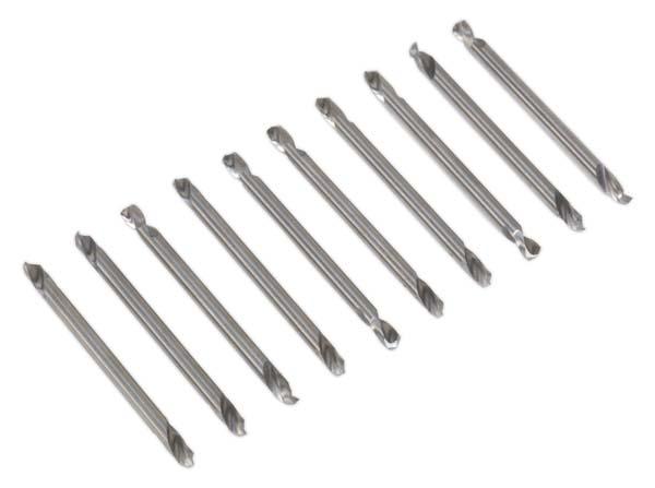 """Sealey - AK9910  Double End Drill Bit Set 10pc 1/8"""""""