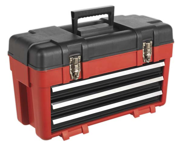 Sealey - AP1003  Toolbox 585mm 3 Drawer Portable