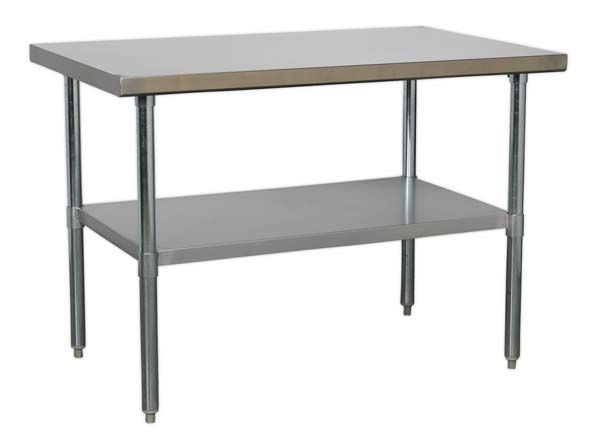 Sealey - AP1248SS  Stainless Steel Workbench 1.2mtr