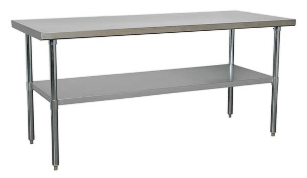 Sealey - AP1872SS  Stainless Steel Workbench 1.8mtr