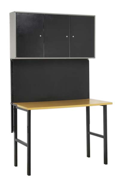 Sealey - AP20FWB  Foldable Workstation with Cupboards