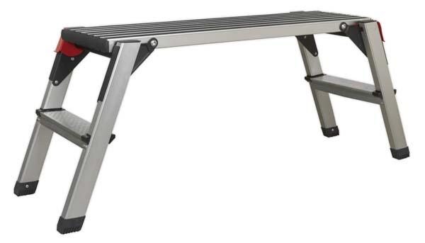Sealey - APS2  Aluminium Folding Platform 2-Tread EN 14183