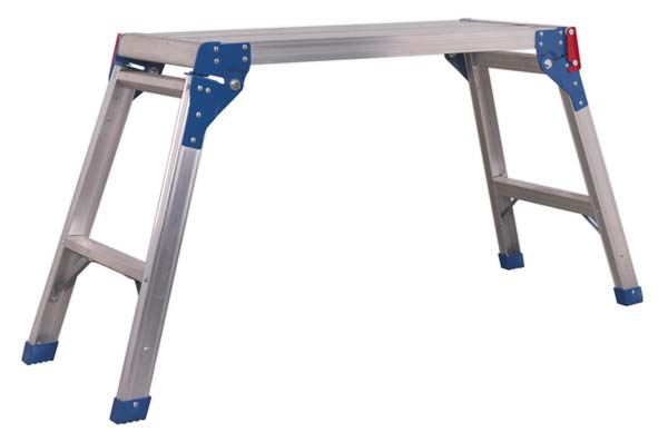 Sealey - APS2E  Aluminium Folding Platform 2-Tread EN 131