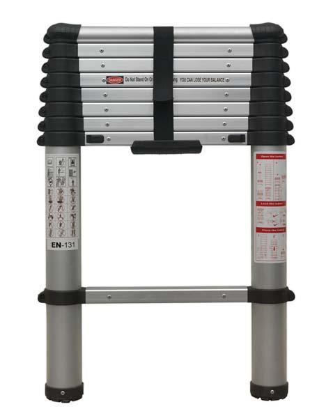 Sealey - ATL09  Aluminium Telescopic Ladder 9-Tread EN 131