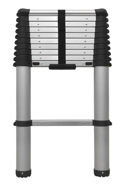 Sealey - ATL11  Aluminium Telescopic Ladder 11-Tread EN 131
