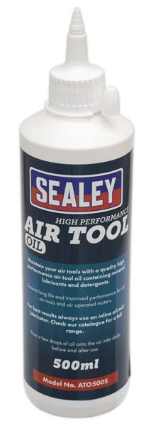 Sealey - ATO500S  Air Tool Oil 500ml