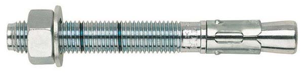 JCP M6 X 60 Approved Throughbolt - Clear Zinc Plated