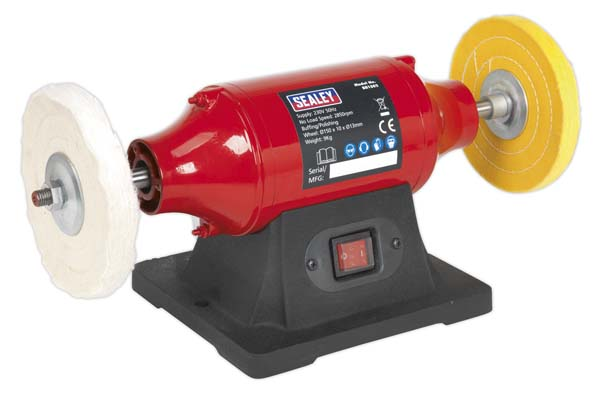 Sealey - BB1502  Bench Mounting Buffer/Polisher 150mm 370W/230V