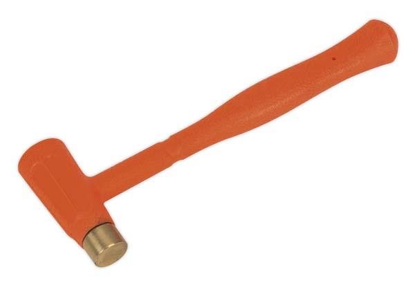 Sealey - BFH12  Brass Faced Dead Blow Hammer 12oz