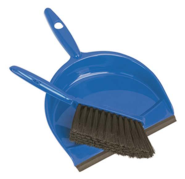 Sealey - BM04  Dustpan & Brush Set Composite