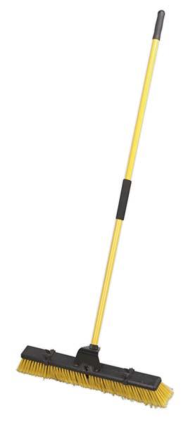 "Sealey - BM24HX  Bulldozer Yard Broom 24""(600mm)"